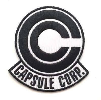 **Legit** Dragon Ball Z Bulma's Capsule Corp Logo Iron On Authentic Patch #4297