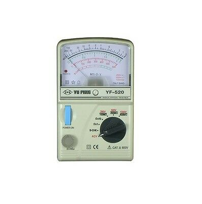 YF-520 High resistance Pointer Insulation Tester analog Meter of high accuarcy