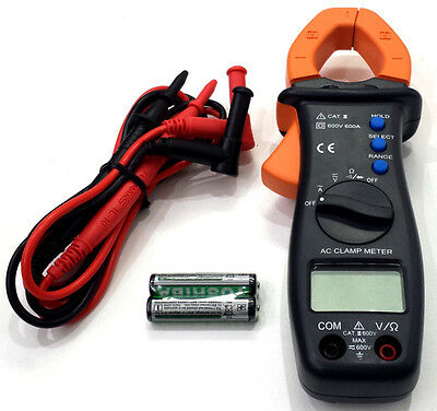 TM-13E 400 Amp Auto ranging AC/DC Clamp Multi Meter - Test Resistance Continuity