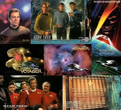Star Trek - Trading Card Sets zum aussuchen (Voyager, Movie ect.)