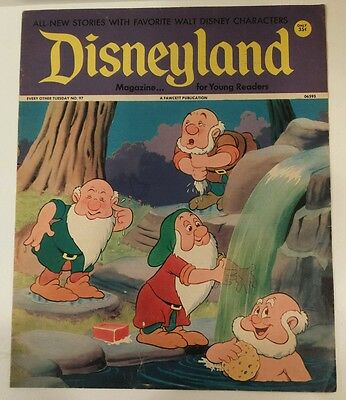 Disneyland Magazine for Young Readers Vintage 1974 DWARFS FROM SNOW WHITE No. 97