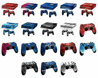 Football Team Controller Console Playstation 4 PS4 Vinyl Skins Stickers Official