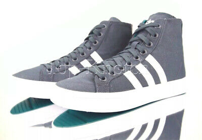 hot products speical offer low priced ADIDAS ORIGINALS GIRLS CourtVantage Mid 3 Stripe Shoes Grey ...