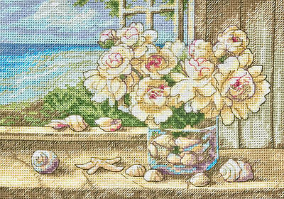 Dimensions - Counted Gold Cross Stitch Kit - By the Sea - D70-65125