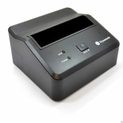 USB 3.0 One Touch Back-Up Docking Station for 3.5 2.5 SATA HDD or SSD [008656]