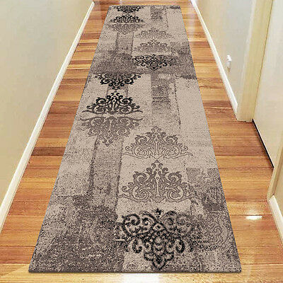 BOSTON Modern DESIGNER Hallways RUNNER RUG / CARPET in 80 x 300 cm FREE POSTAGE