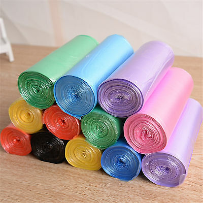 New Sell 1 Roll Garbage Kitchen Toilet Waste Trash Clean up Rubbish Bags Choose