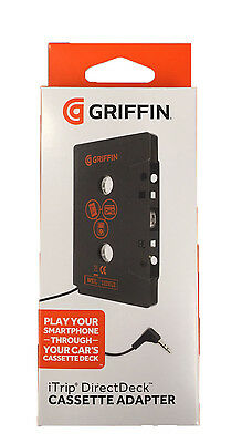 Griffin Universal Direct Deck Cassette Adapter - Black NEXT DAY DISPATCH