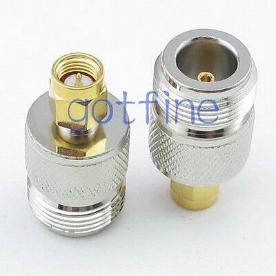 N female jack To SMA male plug Straight RF connector Adapter