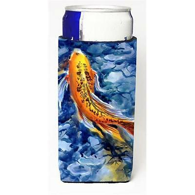 Carolines Treasures Fish Koi Michelob Ultra bottle sleeves For Slim Cans 12 oz.