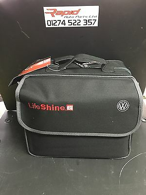 Volkswagen VW Lifeshine Auto Glym Car Cleaning Kit in Canvas Bag