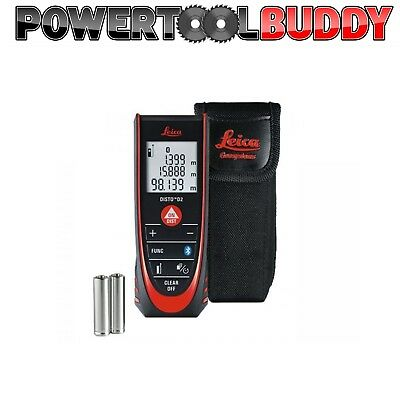 New Leica Disto D2 Bluetooth 100m Laser Distance Meter ** NEXT DAY DELIVERY**
