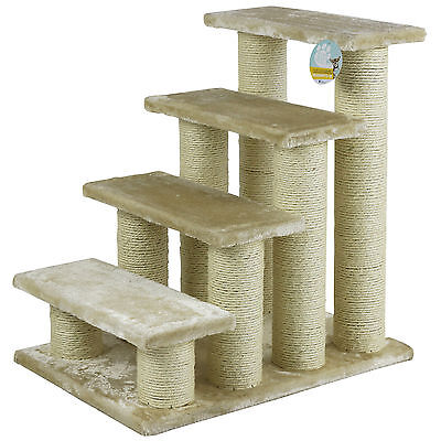 Me & My Large Beige Pet Stairs Dog/cat/puppy Steps/ramp Car/sofa Soft Climb Aid