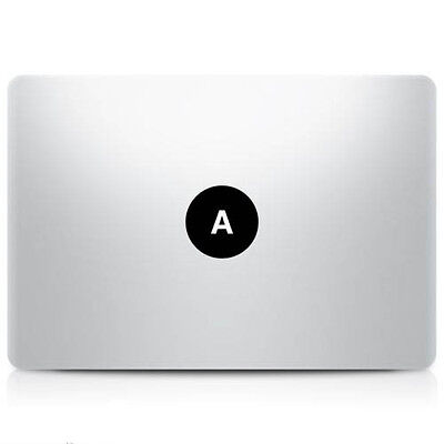 Alphabet letter 'A' Macbook Sticker Laptop Decal Mac Pro Air Retina 11 13 15 17""