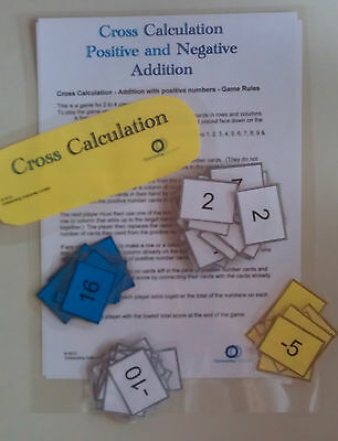 Number Fun-Cross Calculation -Outstanding Outcomes- All ages-Practice arithmetic