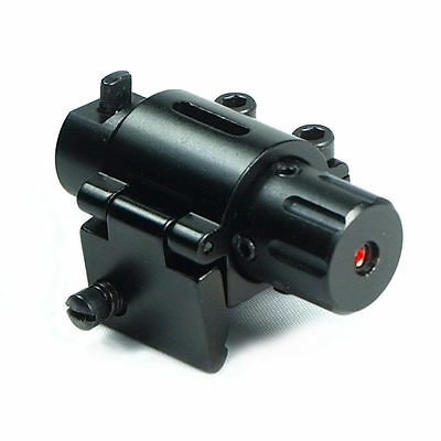 Sporting Red Dot Laser Sight Scope 20mm Picatinny Rail Mount For Rifle Gun New