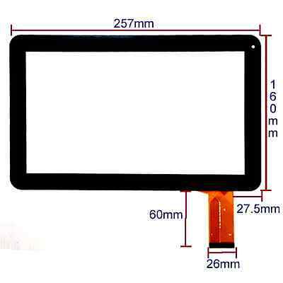 """Replacement Digitizer Touch Screen For 10.1"""" INCH A31S ALLWINNER KITKAT TABLET"""