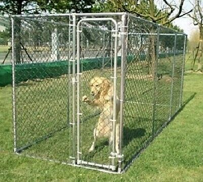 Large Dog Kennel Run Outdoor Garden Cabin Animal Enclosure House Duty Pet Cage