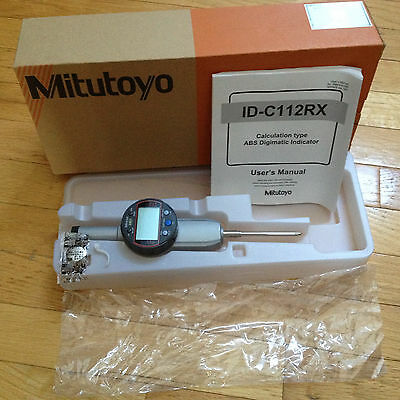"""Mitutoyo 543-596B 0-2""""-00005""""  Digimatic Indicator Made In Japan /inspection"""
