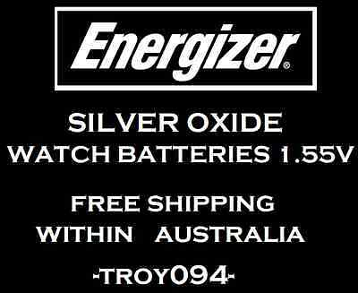 10 Pieces Genuine Energizer Watch Battery Silver Oxide 1.55V Made in Japan