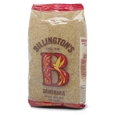 NEW Billington's Demerara Cane Sugar 500g