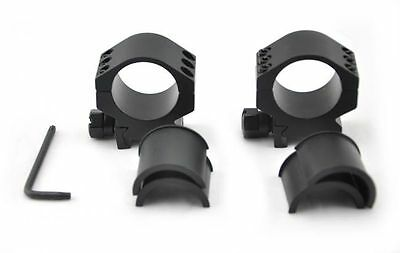 Visionking rifle scope rings 25.4mm 30mm Tube mount for .223 .308 .50 cal