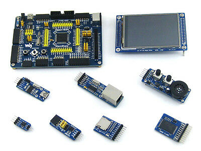 STM32 Development Board Kit ARM Cortex-M3 STM32F103VET6 STM32F103 +7 Module Kits
