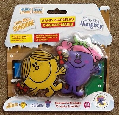 Little Miss Sunshine / Little Miss Naughty - Hand Warmers **new**
