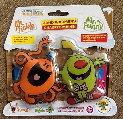 Mr.tickle / Mr.funny - Hand Warmers **new**