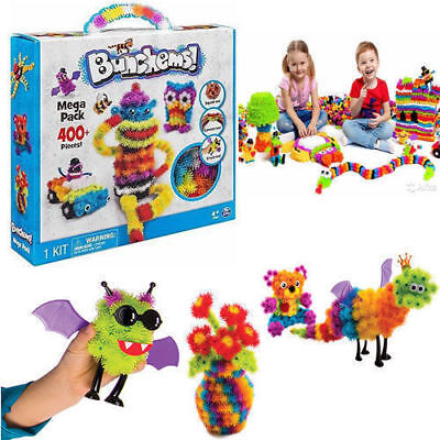 Kids Bunchems Mega Pack Over 400 Pieces Children Toy XMS  Festival Without Box