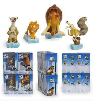 New Kids Gift PVC Toys Doll Ice Age Sloth Sid Manfred Diego Scrat Action Figures