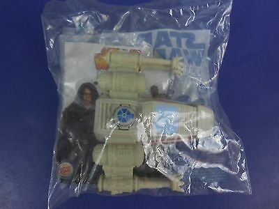 2005 Burger King Star Wars Episode III   X Wing Fighter Ship New Toy Happy Meal