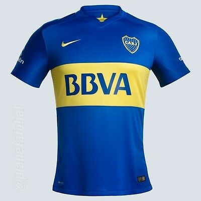 OFFER! BOCA JUNIORS shirt PLAYER ISSUE 2015/16 *AUTHENTIC MATCH* NIKE All Sz
