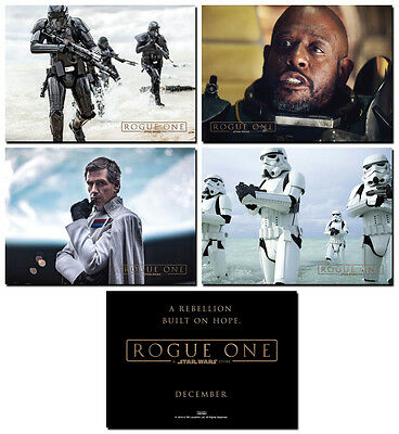 NEW - ROGUE ONE A STAR WARS STORY- 4 Card Promo Set -  Stormtroopers Saw Gerrera