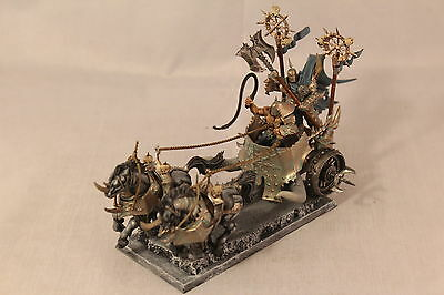 Warhammer Warriors of Chaos Chariot Well Painted