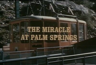 Palm Springs Aerial Tramway Construction Promotional Documentary 1970 Film DVD