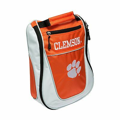 BRAND NEW Team Golf NCAA Clemson Tigers Shoe Bag Orange/White 20682