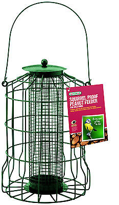 Gardman Squirrel Proof Peanut Feeder Birds High Energy Garden Patio Holds 425g