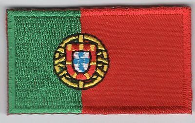 Portugal Flag Patch Embroidered Iron On Applique Portuguese
