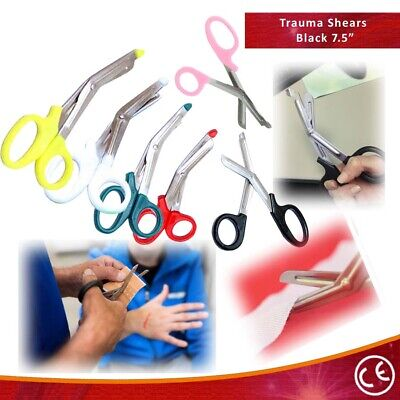 "Bdeals Mixed Colors 7.5"" FirstAid Rescue EMT/EMS Trauma Shears Utility Scissors"