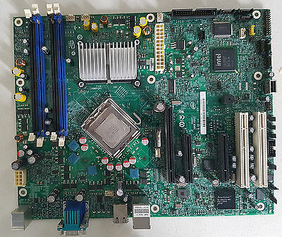 Intel S3200SH server mainboard, Xeon E3310 CPU