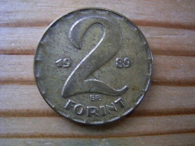1989 Hungary 2 forint Coin Collectable