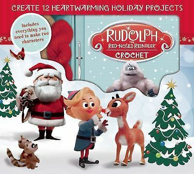 Rudolph the Red-Nosed Reindeer Crochet by Kati Galusz (2016, Kit)
