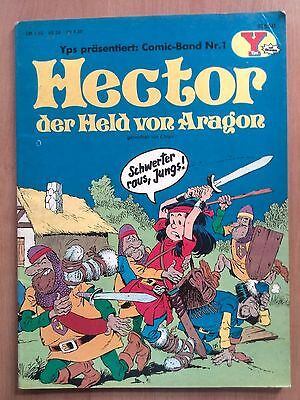 YPS Comic-Band Nr.1 'Hector der Held von Aragon' von 1976