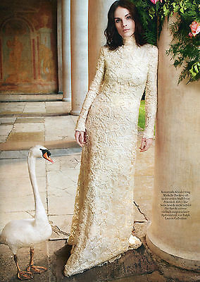 Michelle Dockery Downton Abbey German 1pg Clipping 509