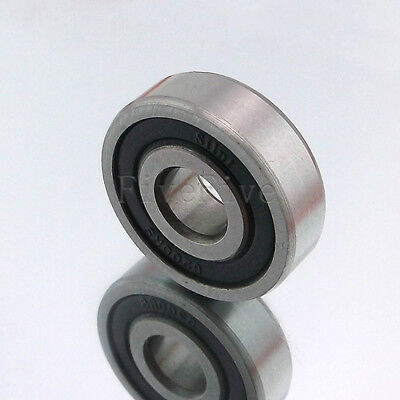 NEW 6200-6205 RS 2RS Series Deep Groove Rubber Sealed Shielded Ball Bearing
