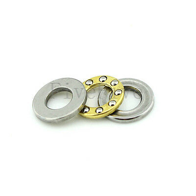 Inner Diameter 2.5-7mm F2.5-6M to F7-15M Axial Ball Miniature Thrust Bearing