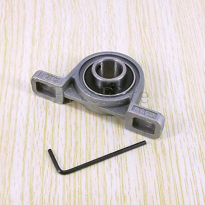 Bore diameter 8/10/12/15/17/20mm Zinc Alloy Pillow Block Mounted Bearing