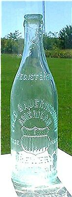 Fred Bauernschmidt-American Brewery-Balto.md.aqua  Crown Top Beer  Bottle