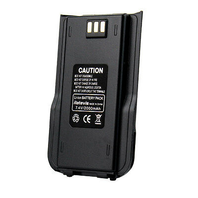 Original Li-ion Radio Battery 2000mAh for Retevis RT3 TYT/Tytera MD-380 Radio US